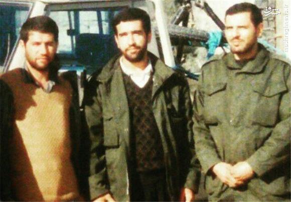عکس یادگاری سه شهید مدافع حرم در کنار یکدیگر