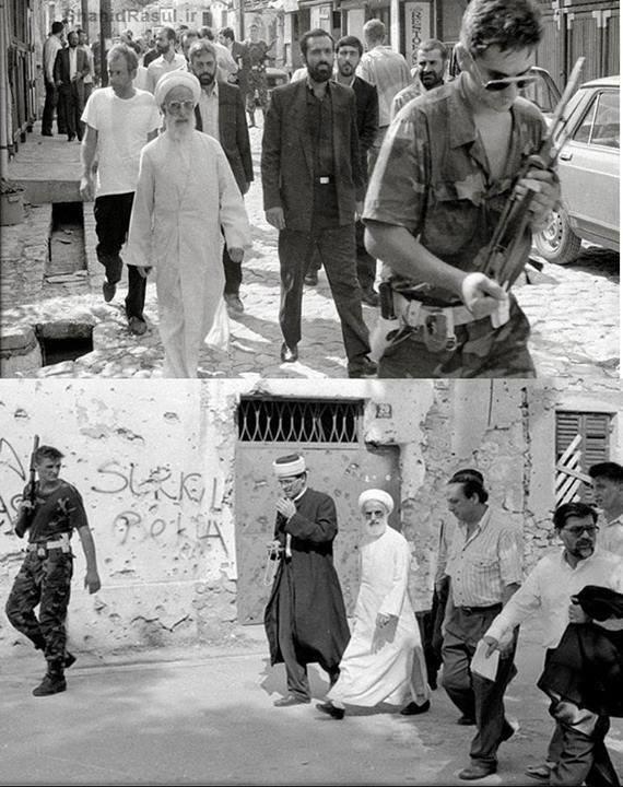 ایران و جنگ بوسنی نقش کلیدی آیت الله جنتی