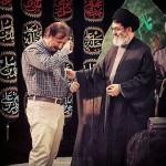 اهدا انگشتر متبرک به تربت سیدالشهداء به مجید مجیدی