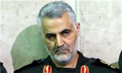 تسلیت سرلشکر سلیمانی در پی شهادت فرمانده عملیات سپاه بدر