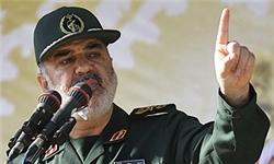 سردار سلامی ؛ از جنگ با آمریکا استقبال میکنیم