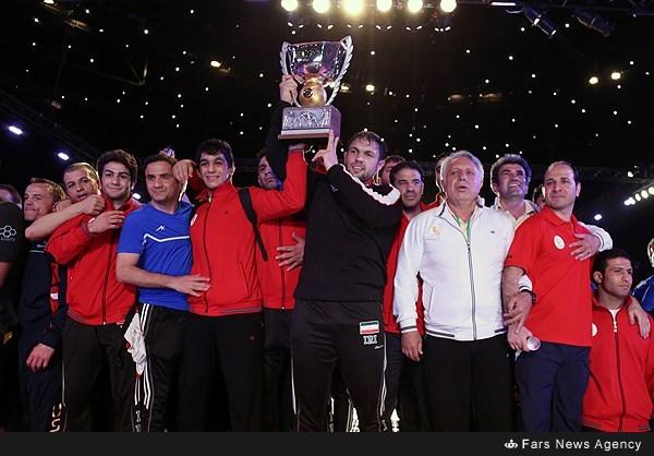 جام جهانی کشتی آزاد /ایران با شکست آمریکا قهرمان جهان شد