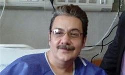 «رضا حسینزاده» گوینده خبر در بیمارستان بستری شد