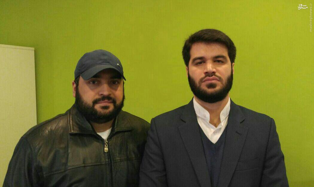 عکس/ میثممطیعی درکنار پسر سیدحسن نصرالله
