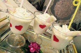 پاناکوتای شکلات سفید