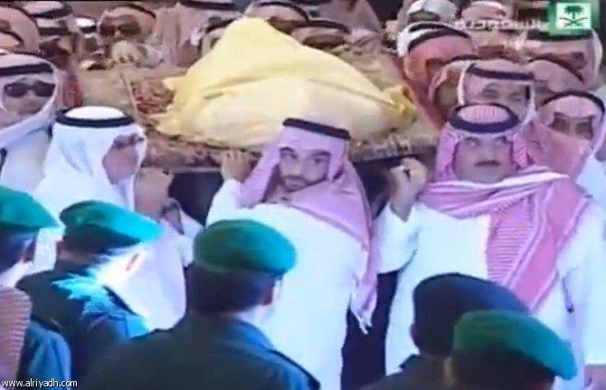 صور من صلاه المیت على الملک عبدالله