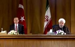 دیدار اردوغان و روحانی
