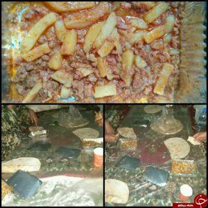 شام مدافعان حرم در حلب سوریه