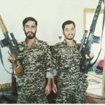 شهادت مصطفی و مجتبی بختی در سوریه (عکس)
