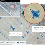 تصویر ماهوارههای آمریکا از جنگندههای روسی در همدان