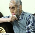 ادای احترام محمدرضا گلزار به آقارجب + عکس