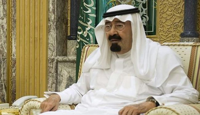 وفاه الملک السعودی عبد الله بن عبد العزیز