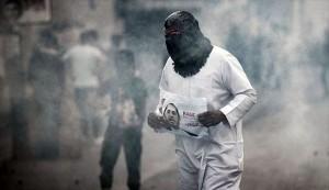 استشهاد مواطن بحرینی اثر اصابه سابقه بغازات سامه
