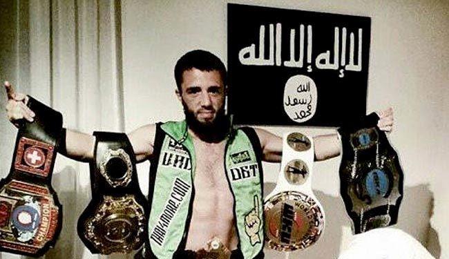 بوکسور معروف به داعش پیوست + عکس