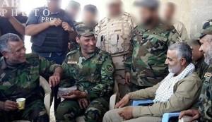 التعاون العسکری العراقی الأیرانی