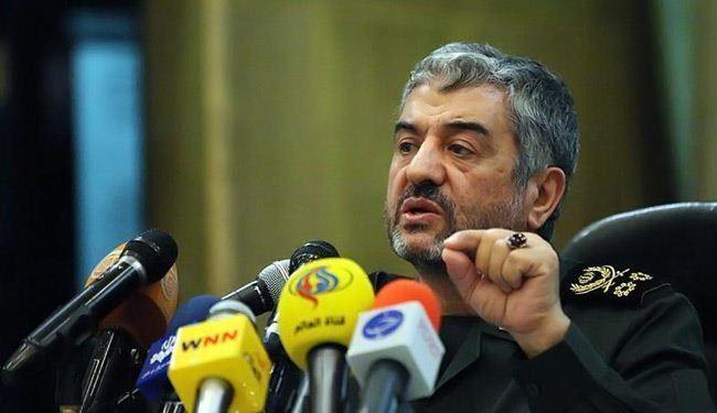 قائد حرس الثورة الاسلامية اللواء جعفري