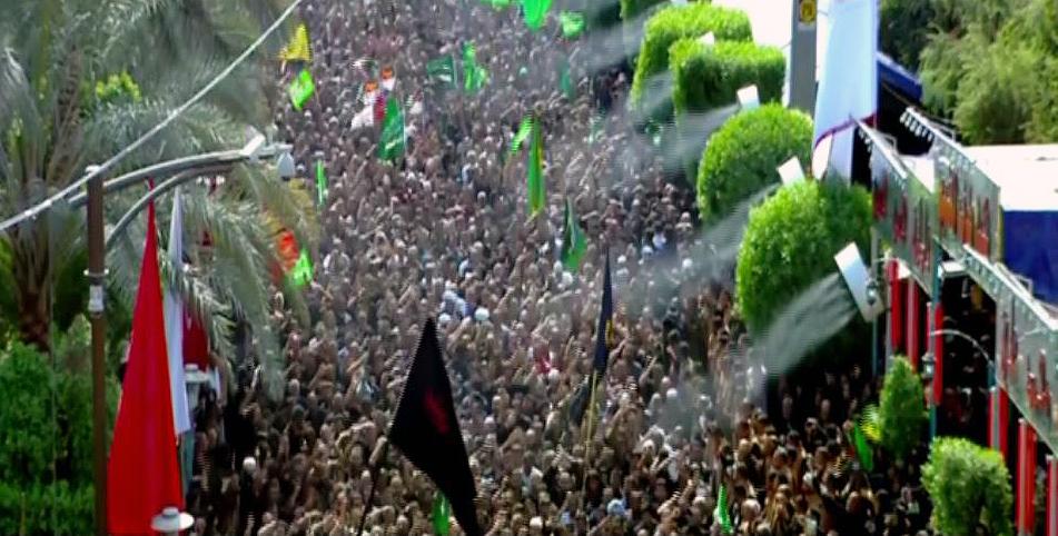 ملایین المسلمین یبدأون مراسم ختم ذکرى عاشوراء فی کربلاء