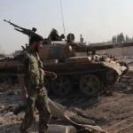 الجیش السوری یسیطر على مدینه الحاضر جنوب حلب