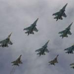 """قاذفات روسیه استراتیجیه تقصف مواقع """"داعش"""" للمره الأولى فی سوریا"""