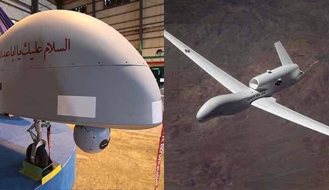 طائرة بدون طيار ايرانية الصنع