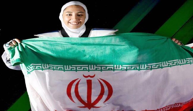 کیمیا علیزاده نخستین مدال المپیک تاریخ ورزش بانوان ایران را کسب کرد