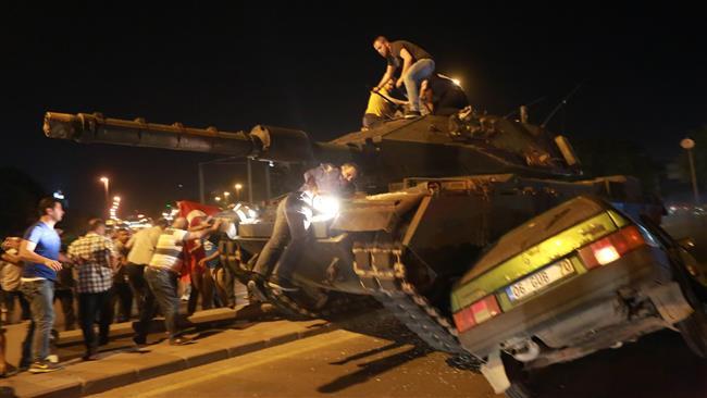 Coup d'état militaire en Turquie