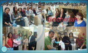 دیدار فائزه هاشمی با رئیس سابق جامعه بهائیان