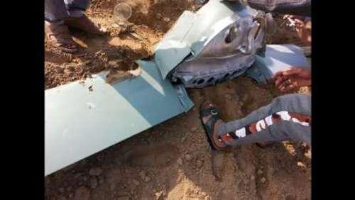 سقوط پهپاد در خوزستان