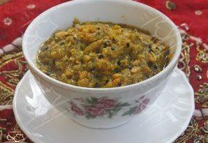 ترشی لیته بادمجان و هویج