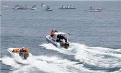 دستگیری تفنگداران دریایی آمریکا توسط سپاه