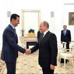 سفر اسد به روسیه