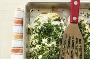 ماهی تیلاپیا با سبزیجات تازه