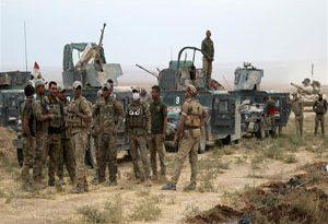 ورود نیروهای عراقی به اولین منطقه در غرب موصل