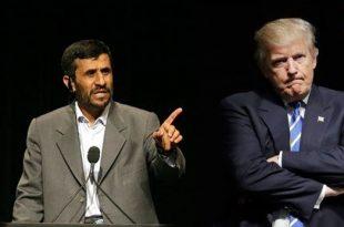 پاسخ فوری ترامپ به نامه احمدی نژاد