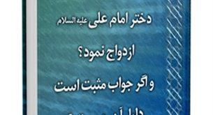آیا عمر بن خطاب با ام کلثوم دختر امام علی ( علیه السلام ) ازدواج نمود؟ و اگر جواب مثبت است دلیل آن چیست؟