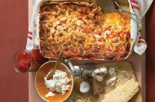 لازانیای پنیر به روش کلاسیک