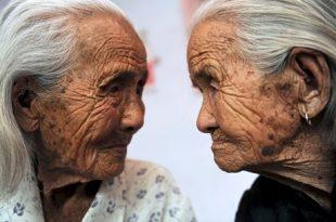 پیرترین دوقلوهای جهان + عكس