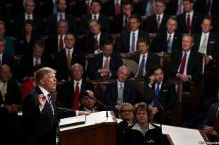فیلم لورفته از پشت صحنه حرکات ترامپ و همسرش قبل از سخنرانی