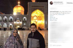 خانم بازیگر سریال خواب و بیدار چادر به سر کرد+عکس