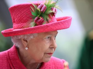 مرگ ملکه انگلیس