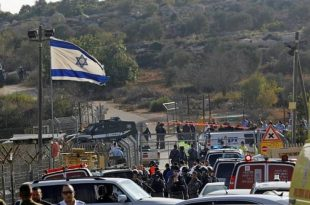 Palestinian gunman kills three Israelis at settlement