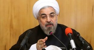 President Rouhani defends Guards in show of unity anticipating Trump