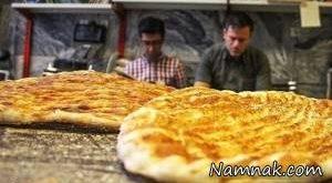 قیمت انواع نان