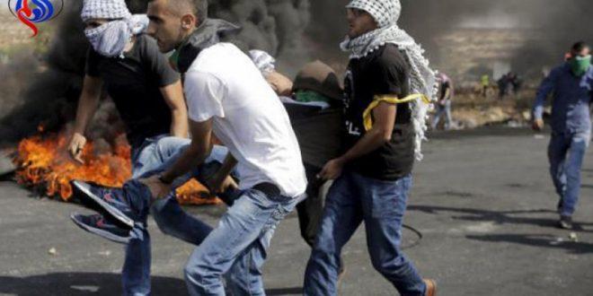 تجديد المواجهات بالضفة واصابة عدد من الفلسطينيين