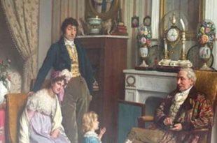 یک تابلوی نقاشی متعلق به قرن 19