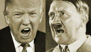 طرفداران ترامپ و هیتلر