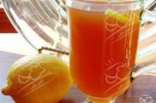 دمنوش زنجبیل با عسل و لیمو