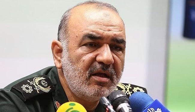 العمید سلامی: نتوعد الکیان الصهیونی بصواعق مدمره