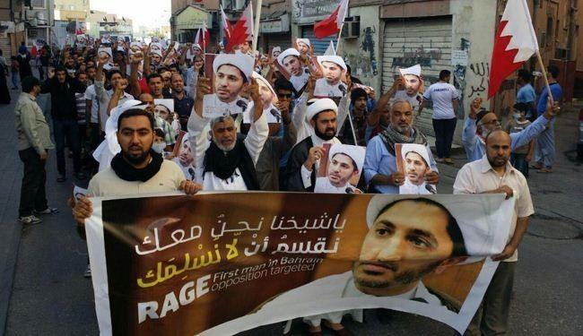 مسيرات بحرينية غاضبة عشية جلسة محاكمة الشيخ سلمان