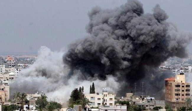 بمباران شهرهای یمن توسط جنگنده های عربستانی